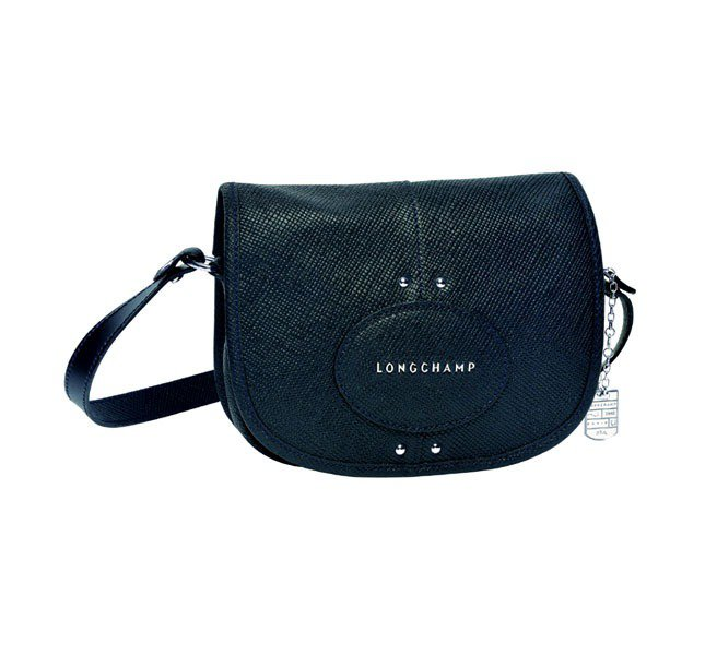 Longchamp Quadri 系列肩揹包(雪松色)。圖/Longchamp提...