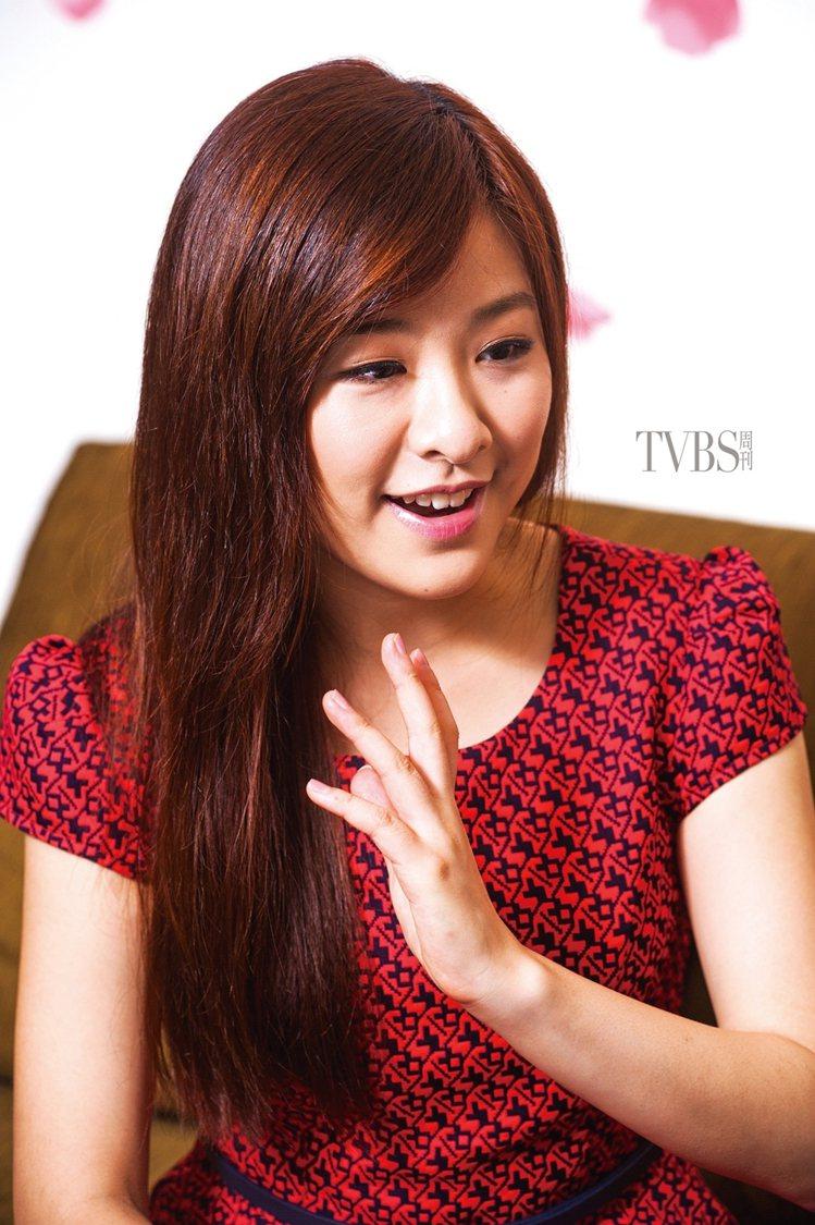 關詩敏透露,剛進劇組時大家看到她的演出都搖頭,導演一開始也幫她緩頰。圖/TVBS...