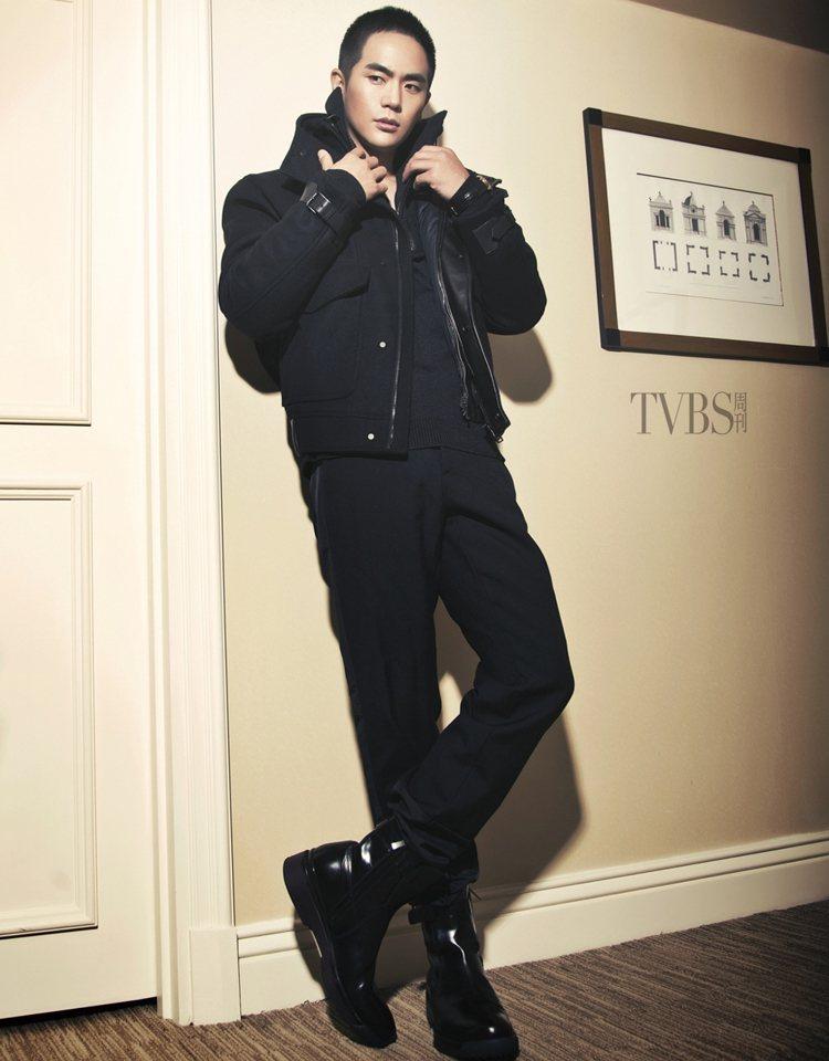 張曉龍在《十月圍城》演大反派,眼神下足功夫。圖/TVBS周刊