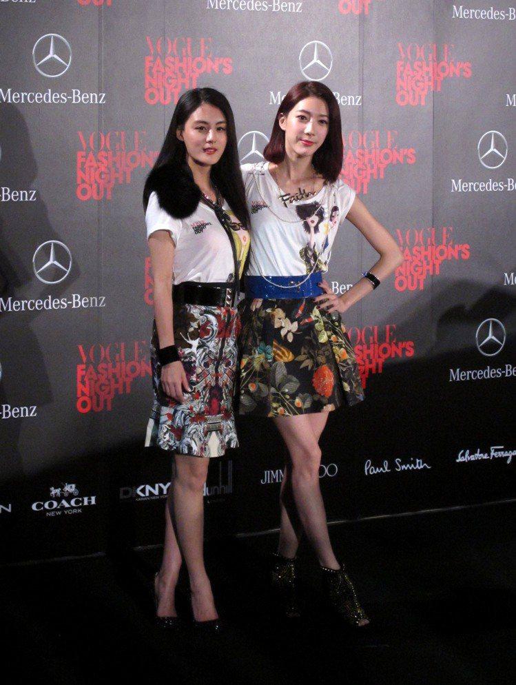 (左起)宋紀妍、宋米秦。記者吳曉涵/攝影