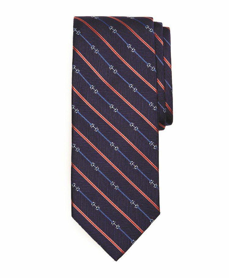 Brooks Brothers絲質領帶,3,980元。圖╱迪生提供