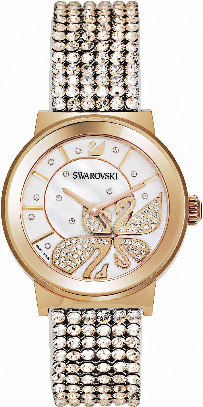 Piazza Lady腕表,28,700元。圖/SWAROVSKI提供