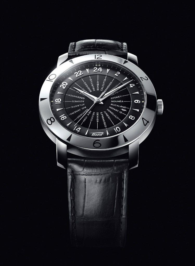 TISSOT Heritage Navigato領航者系列160週年複刻紀念腕錶...