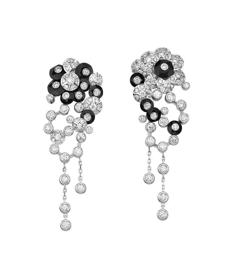Limelight Couture Precieuse耳環,18K白金鑲嵌137...