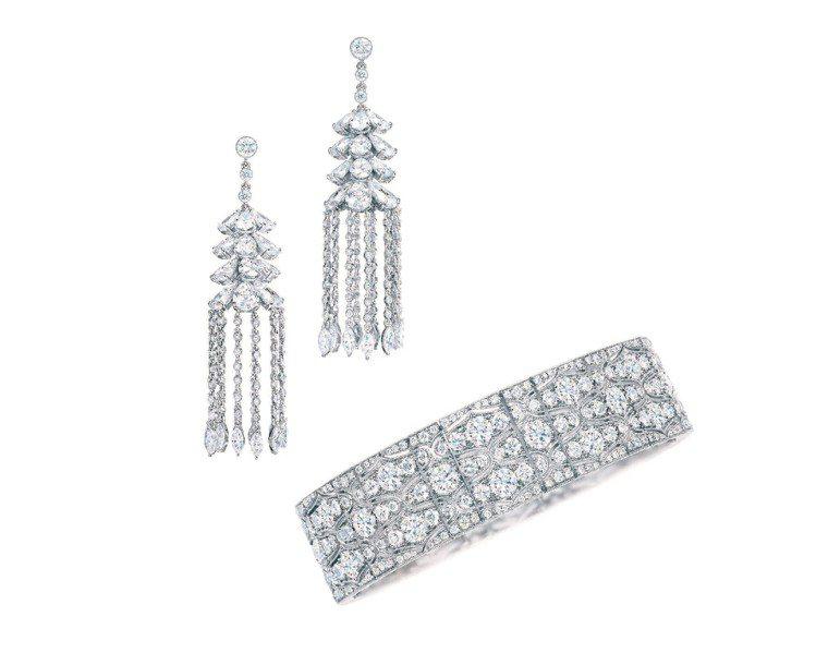 鑽石手環398萬5,000元。圖/Tiffany提供