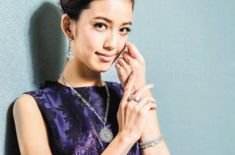 陳庭妮入行10年,有意買一件Tiffany的鑽戒犒賞自己。記者黃士航/攝影