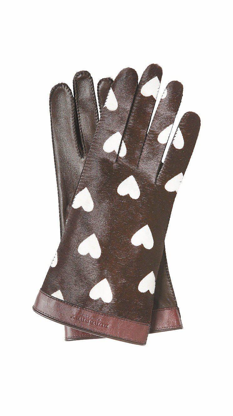 愛心手套,26,000元。圖/BURBERRY提供