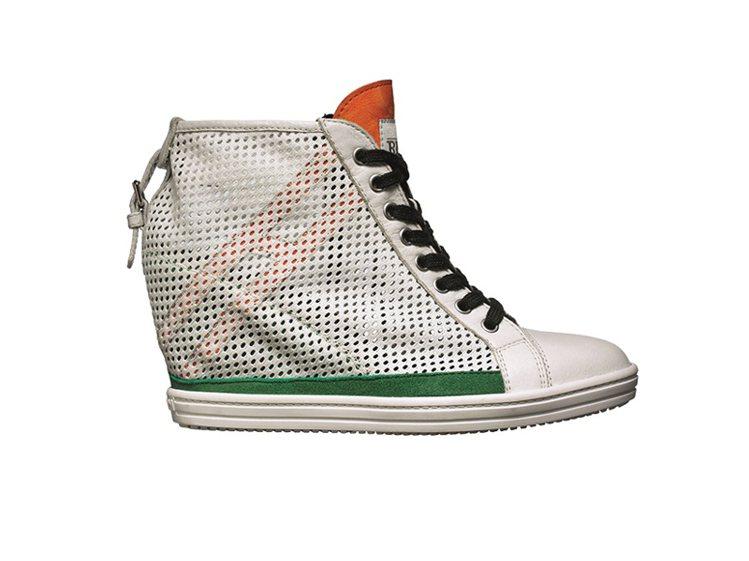 HOGAN內增高女性球鞋,14,900元。圖/迪生提供