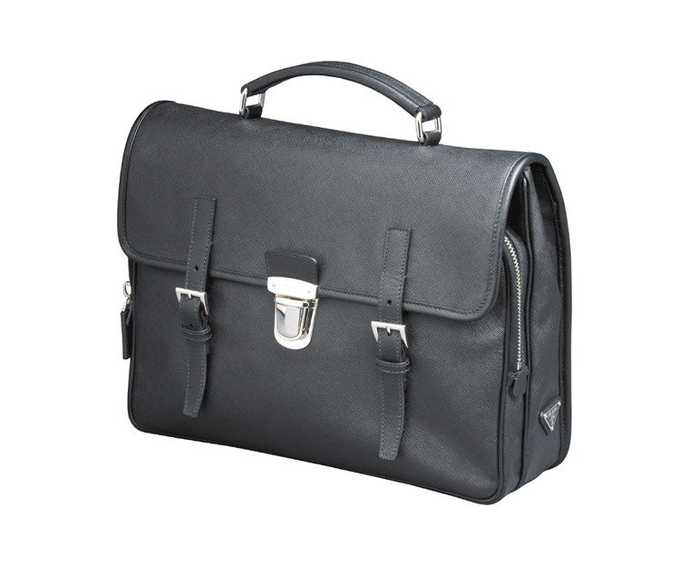 PRADA黑色手提公事包,87,500元。圖/PRADA提供