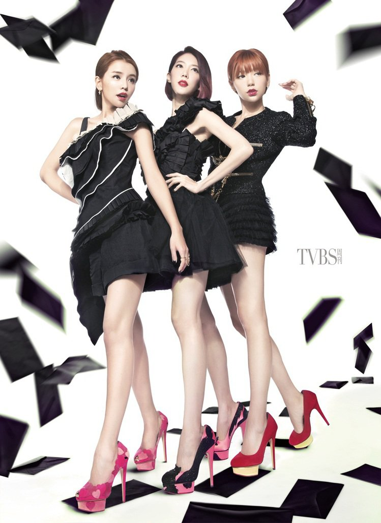 Dream Girls 李毓芬、郭雪芙、宋米秦以美貌與長腿橫掃宅男界,可說是目前...