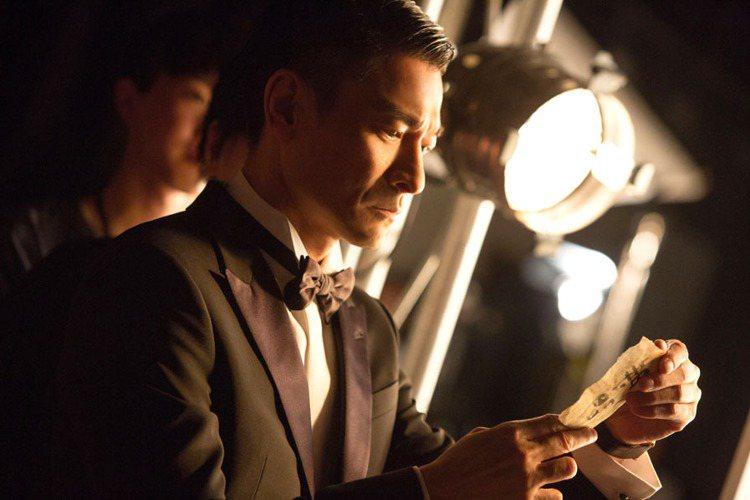 劉德華代言Cartier微電影廣告,展現天王風采。圖/Cartier提供