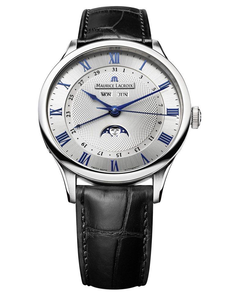匠心系列月相腕錶,145,000元。圖/艾美表提供