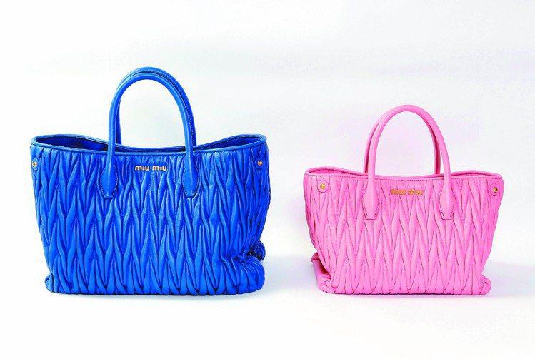 經典Matelasse手提包,60,000元起。圖/MIU MIU提供
