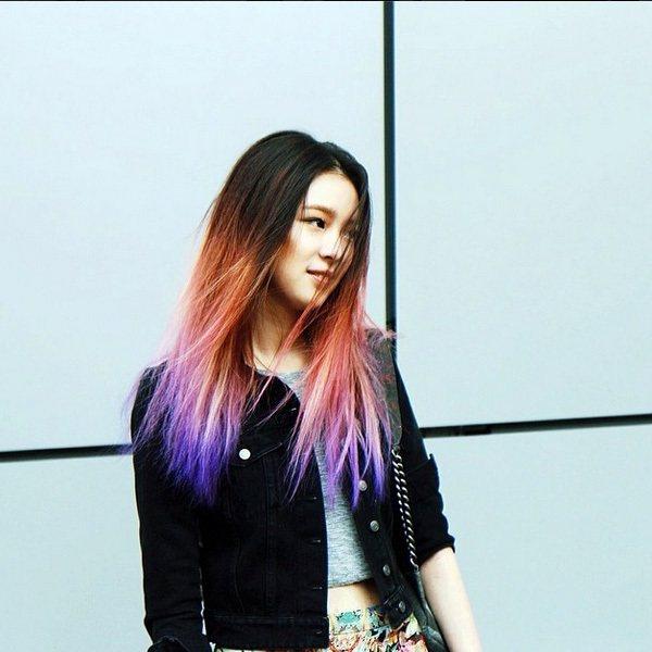 Irene Kim 最讓人印象深刻的就是那一頭亮麗的秀髮。圖;文/美麗佳人