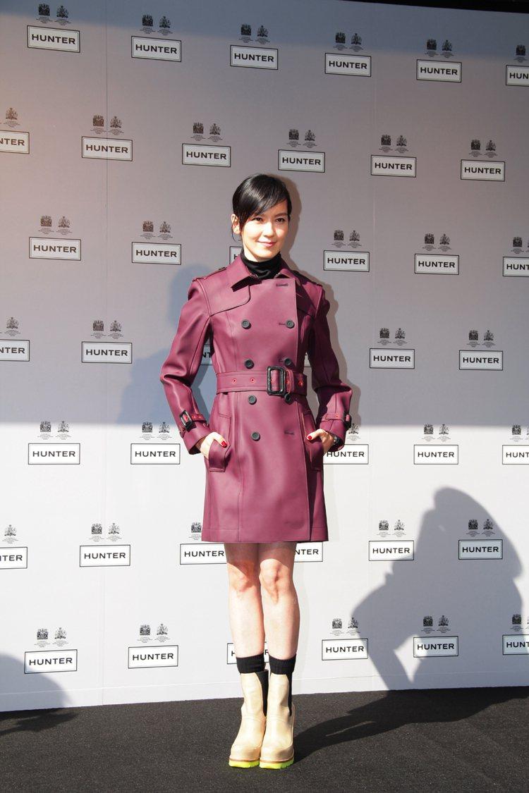 HUNTER 亞洲首間概念店日前在台灣隆重開幕,請來女星林熙蕾演繹最新 Orig...
