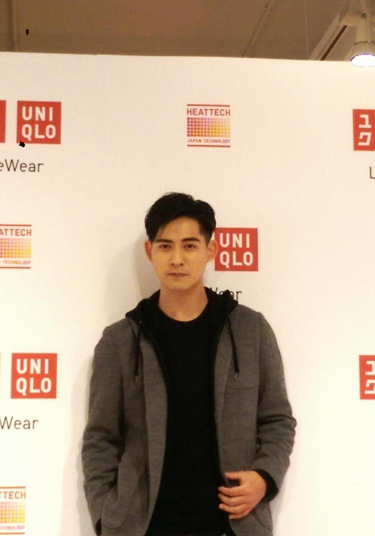 第二季為 UNIQLO 代言的仔仔,笑說自己實在是品牌發熱衣的超級大粉絲。記者吳...