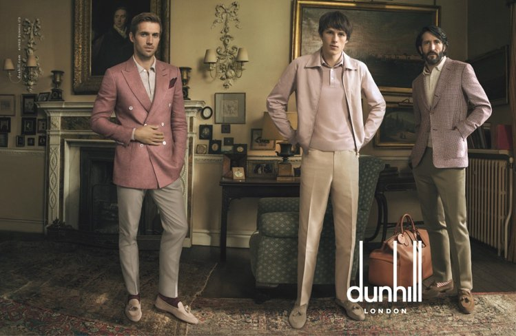 dunhill 2015 春夏廣告呈現「Escape 出走」的重點概念,刻劃到友...