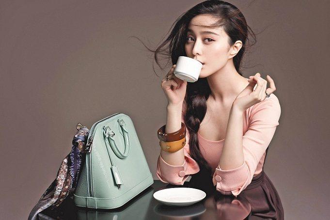 范冰冰是第一位登上LV廣告的中國女星。圖/LV提供
