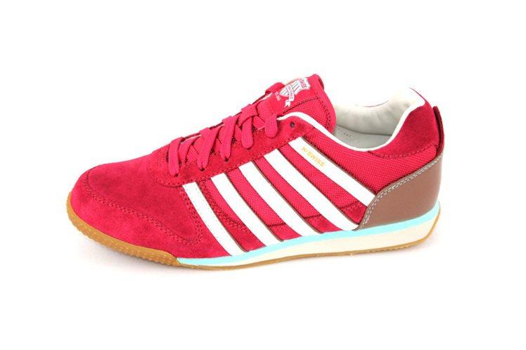 Whitburn SP T(女) 復古慢跑概念鞋(紅) 售價2,280元。圖/K...
