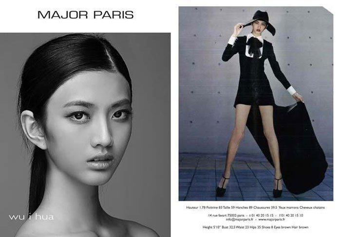 吳宜樺被 models.com 封為最具潛力的新人之一。圖/擷自models.c...