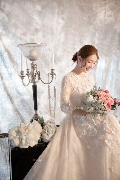 宋米秦婚紗照。圖/林莉工作坊提供