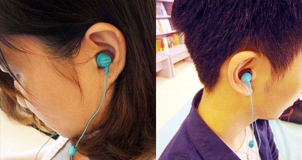 SONY耳塞式立體聲耳機麥克風。圖/Wow!La Vie
