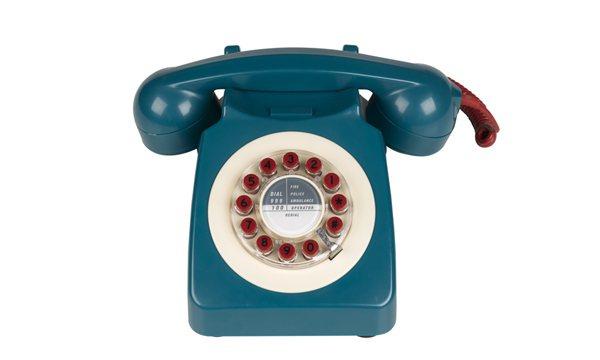 746 英式復古電話。定價2500元。圖/Wow!La Vie