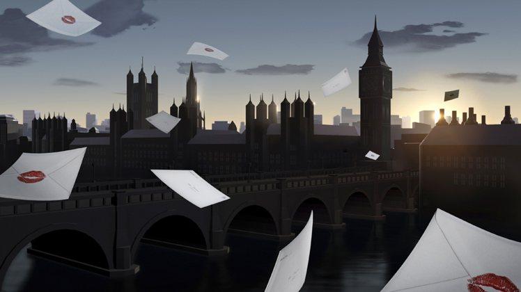 Burberry Kisses - Skyline (London)。圖/BUR...