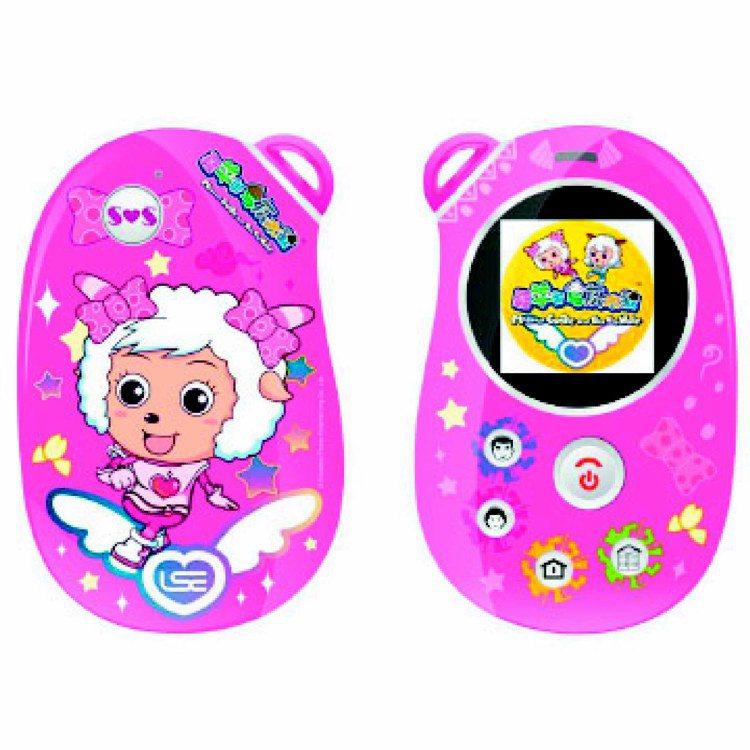 喜羊羊兒童手機可愛的圖樣讓孩子收到也喜洋洋,1,880元。圖/摘自購物網站