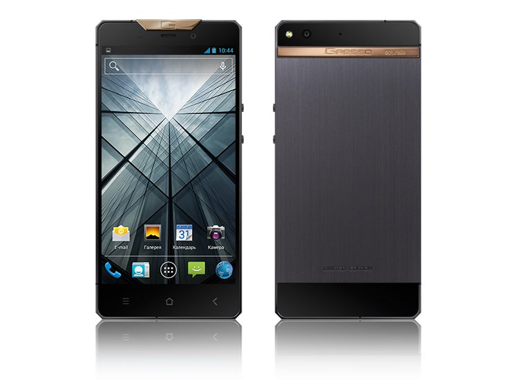 瑞士手機品牌Gresso,用18K金所打造的全新機款Regal R3,要價約台幣...