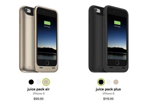 mophie推出全新專為iPhone6與iPhone6 Plus設計的保護殼,分...