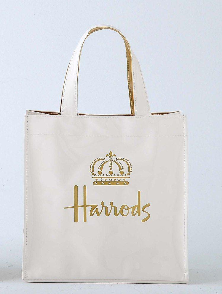 Harrods皇室婚禮限定款PVC袋,在新光三越南西店、站前店及信義新天地等分店...