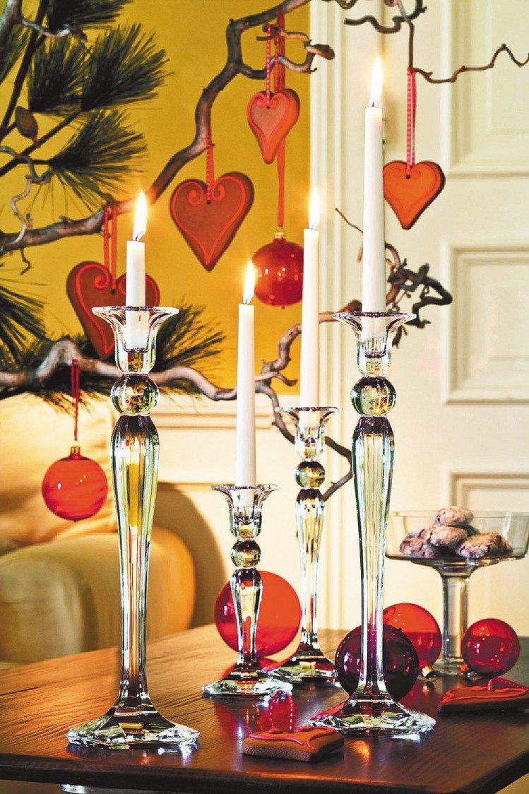 Villeroy&Boch私家花園系列燭台。圖/帕朵傢俬提供