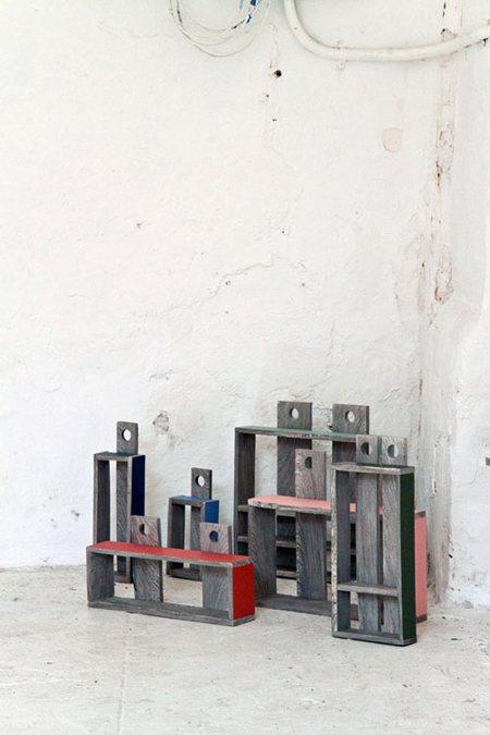 紙木材設計櫃。圖/Wow!La Vie提供