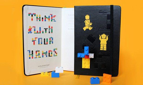 限量版的LEGO筆記本。圖/Wow!La Vie