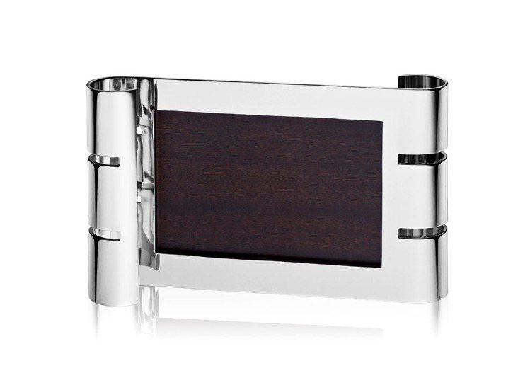 PUIFORCAT新品Ruban系列純銀橫式相框。圖/博藝府家提供