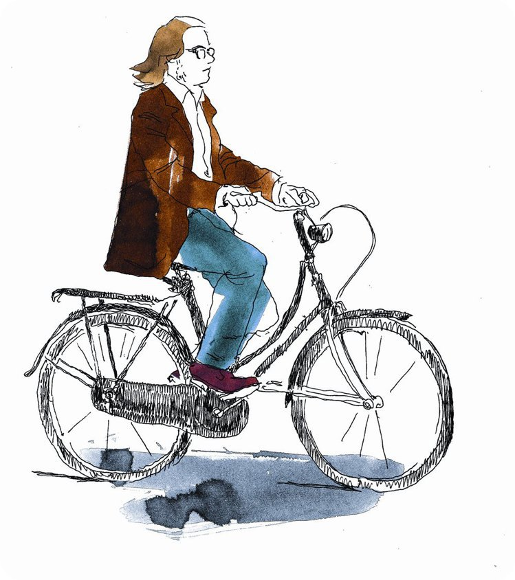 在巴黎騎單車得具備些瘋狂因子,需要有個充滿神風特攻隊精神的變速器、或要有腳踏車手...