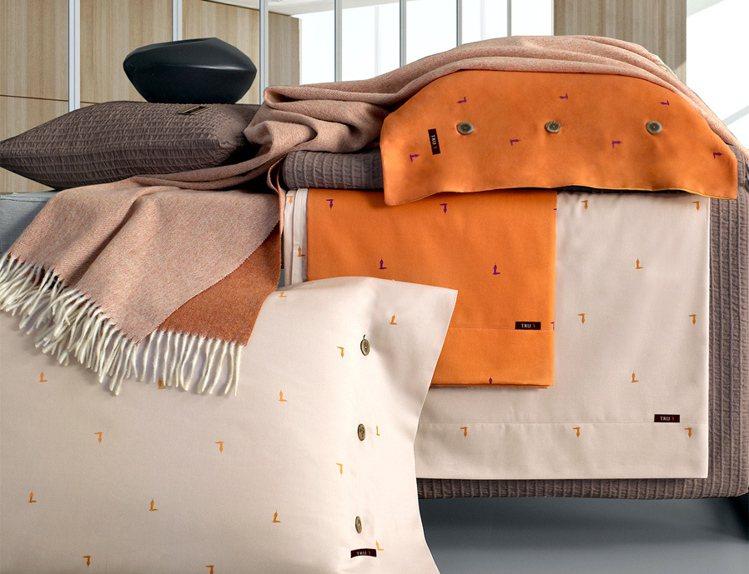 日比家族發表秋寢,充滿撞色設計感。圖/日比家族提供