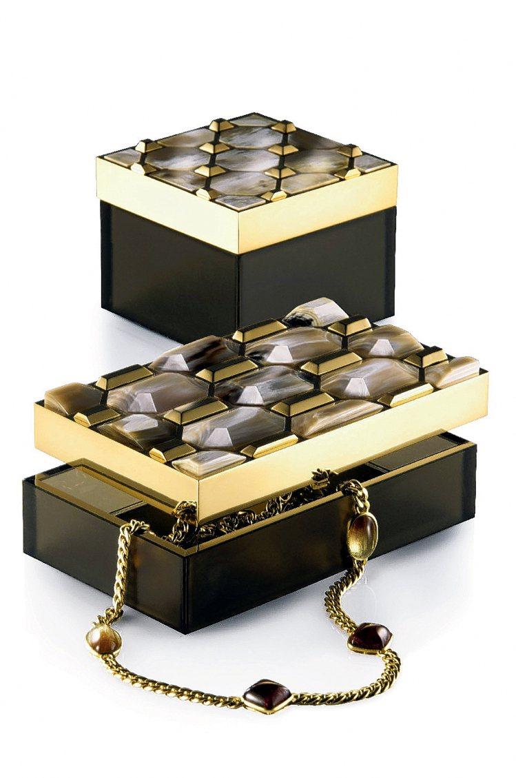 Arca雅砌牛角珠寶盒,定價138000元。圖/寬庭提供