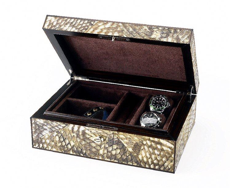 金魚皮珠寶盒,售價請洽寬庭。圖/寬庭提供