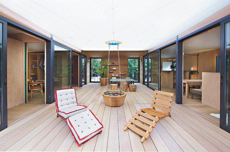 LV在邁阿密將傳奇建築設計師Charlotte Perriand,在1934年設...