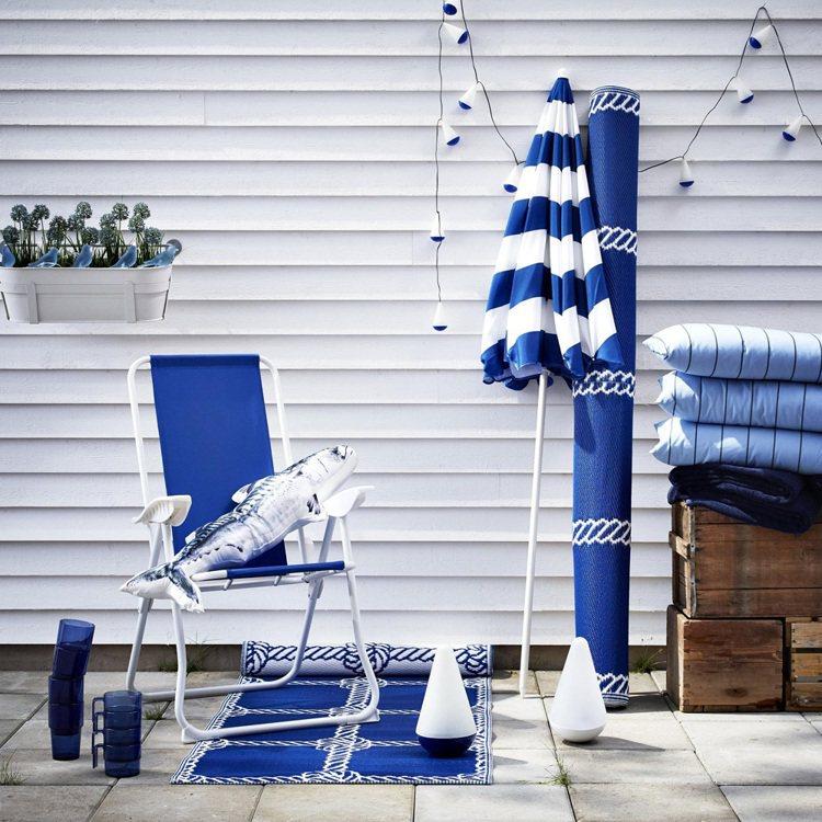 夏天快來了,居家賣場搶先換季。圖/IKEA提供