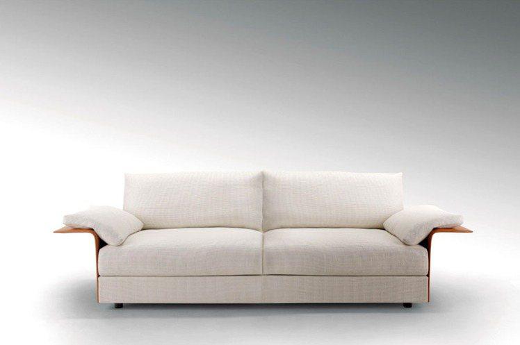 Fendi Casa依舊簡約大氣,注重細節與質感。圖/御邸家具提供