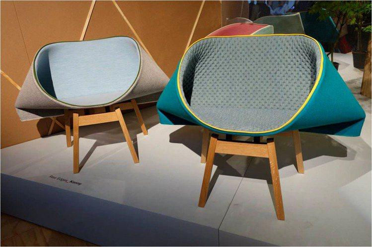 居家趣味無處不在,如粽子般的坐椅,讓人不禁莞爾。圖/紐約家具提供非報系