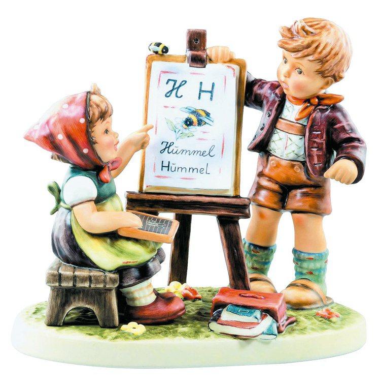 喜姆80周年紀念限量瓷偶「Bee Creative創意無限」登台。圖/集雅廊提供