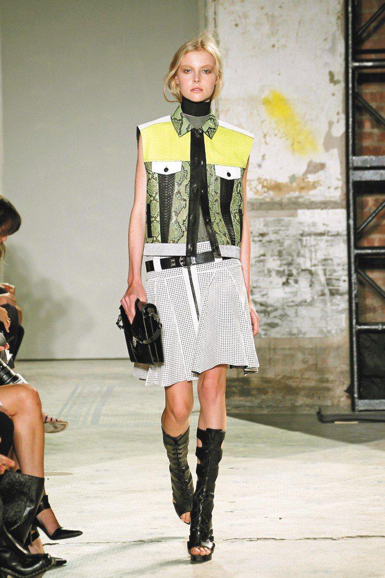 獲得CFDA最佳女裝的Proenza Schouler,可在臨時店見到。圖/Cl...