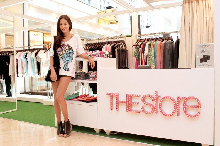 THEstore是今年三月才全新開設的潮流品牌複合概念店,標榜孫芸芸最愛的美式休...