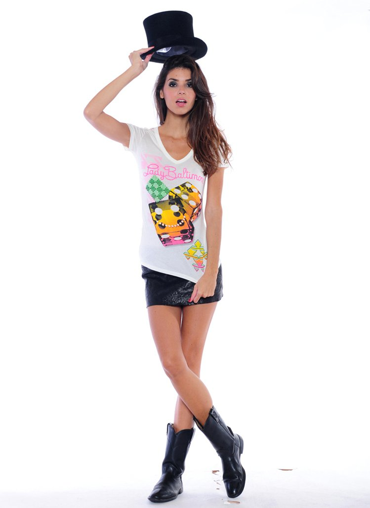 Baltimore Brands的Lady Baltimore「骰吧!青春T恤,...