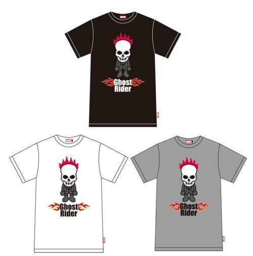 贈品之2:Marvel Ghost Rider 限量短袖T恤 。圖/威視電影...