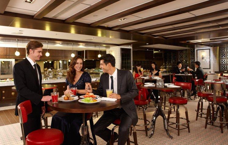 絲路宴時尚用餐區每個轉角處都充滿驚喜。圖/The Westin Taipei